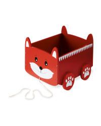 Fox Pull Along Storage Cart