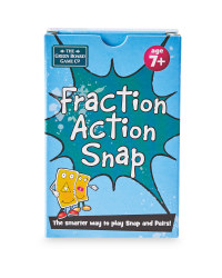 Fraction Action Snap Cards