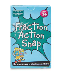Fraction Action Snap Card Game