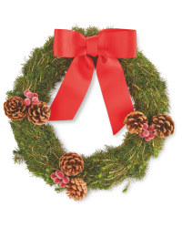 Perfect Christmas Fresh Red Wreath