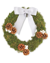 Perfect Christmas Fresh White Wreath
