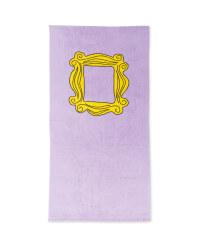 Friends Mirror Licensed Beach Towel