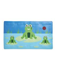 Frog Heat Spot Kids' Bath Mat