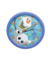 Frozen Olaf Clock