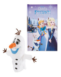 Frozen Olaf Disney Book And Puppet