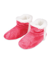 Fuchsia Avenue Ladies' Snuggle Boots