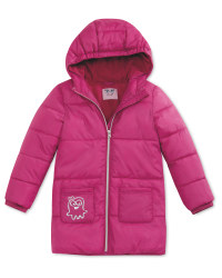 Quilted Fuchsia Children's Jacket