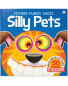 Silly Pets Funny Faces Sticker Book