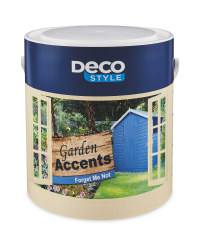 Forget Me Not Garden Accents Paint