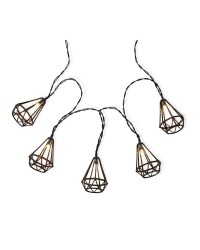 Garden Bright Solar String Lights