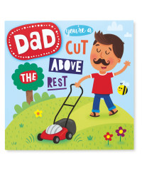 Gardener Father's Day Square Card
