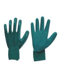 Green Robust Gardening Gloves Large
