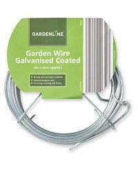 Gardenline 15m Galvanised Wire