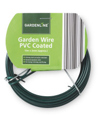 Gardenline 15m PVC-Coated Wire