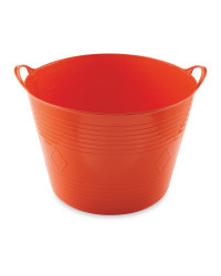 Gardenline 43 Litre Garden Tub - Orange