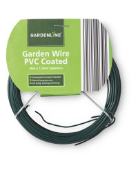 Gardenline 50m PVC-Coated Wire