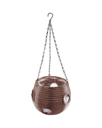 Gardenline Ball Hanging Basket - Chestnut