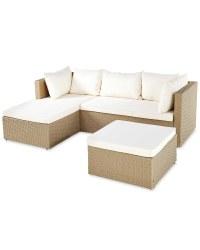 Gardenline Beige Corner Sofa