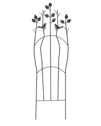 Gardenline Bird Black Iron Trellis