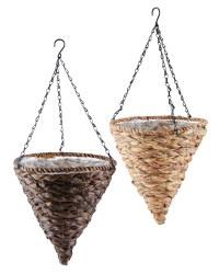 Gardenline Cone Hanging Baskets