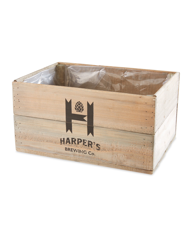 Gardenline Harper Wooden Planter