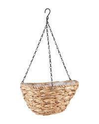 Gardenline Leaf Hanging Baskets - Natural
