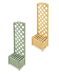 Gardenline Lattice Wooden Planter