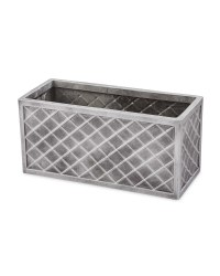 Gardenline Pewter Effect Grow Trough
