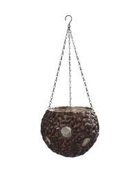 Gardenline Ball Hanging Baskets - Brown