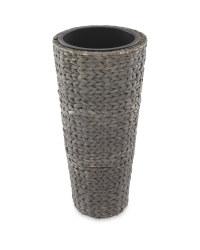 Gardenline Round Hyacinth Planter - Anthracite