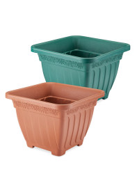 Gardenline Self-Watering Square Pot