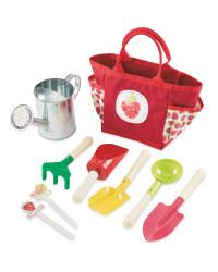 Kid's Strawberry Gardening Set