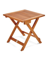 Gardenline Wooden Garden Side Table