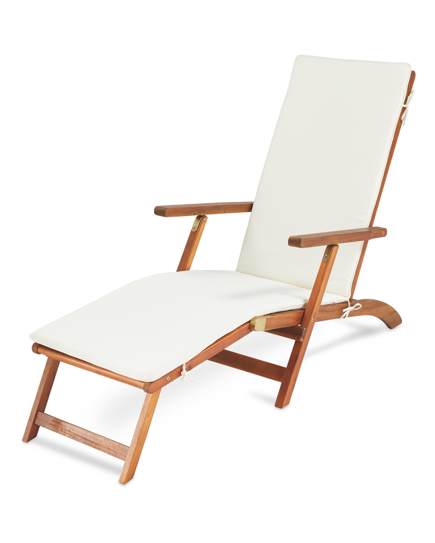 Strange Gardenline Wooden Lounger Machost Co Dining Chair Design Ideas Machostcouk