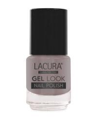 Lacura Gel Effect Nail Polish - Stormy Grey