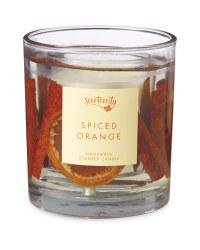 Gel Spiced Orange Candle