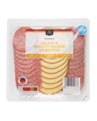 German Salami and Cheese