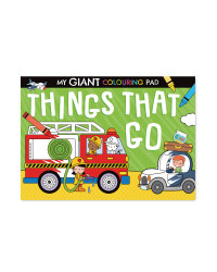 Giant 'Things' Poster To Colour Book