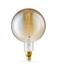Giant Antique Globe Light Bulb