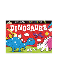Giant Dinosaur Poster To Colour Book