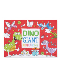 Giant Dinosaurs Colour In Poster