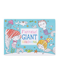 Giant Mermaids Colour In Poster