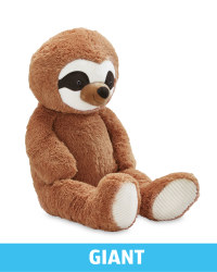 Giant Plush Brown Sloth