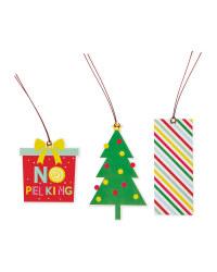 Colourful Christmas Gift Tags
