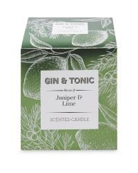 Gin & Tonic Fragranced Candle