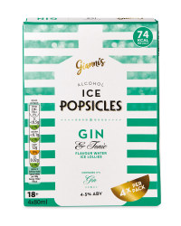Gin & Tonic Popicles