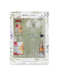 Gin & Tonic with Balloon Glass Set