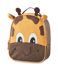 Giraffe Character Shape Lunch Bag