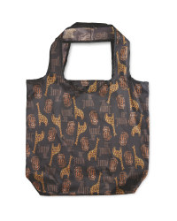 Giraffe Reusable Pouch Shopping Bag