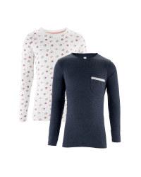 Girl's Floral Long Sleeve T-Shirt